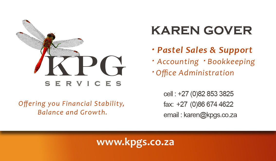 KPG Services Business Card